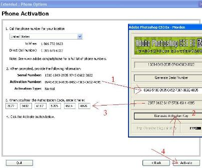 Adobe photoshop cs3 authorization code keygen free download