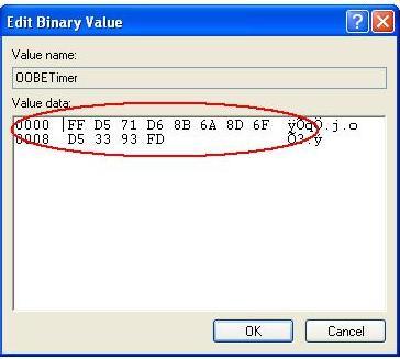 binary value