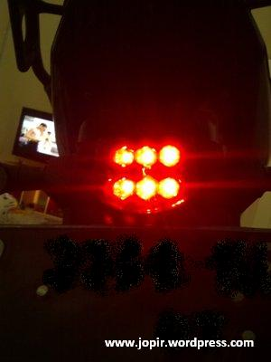 Review Stop Lamp LED Di Yamaha Byson